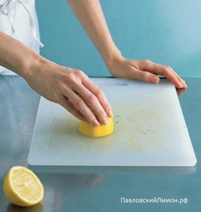 Лимон поможет от неприятных запахов